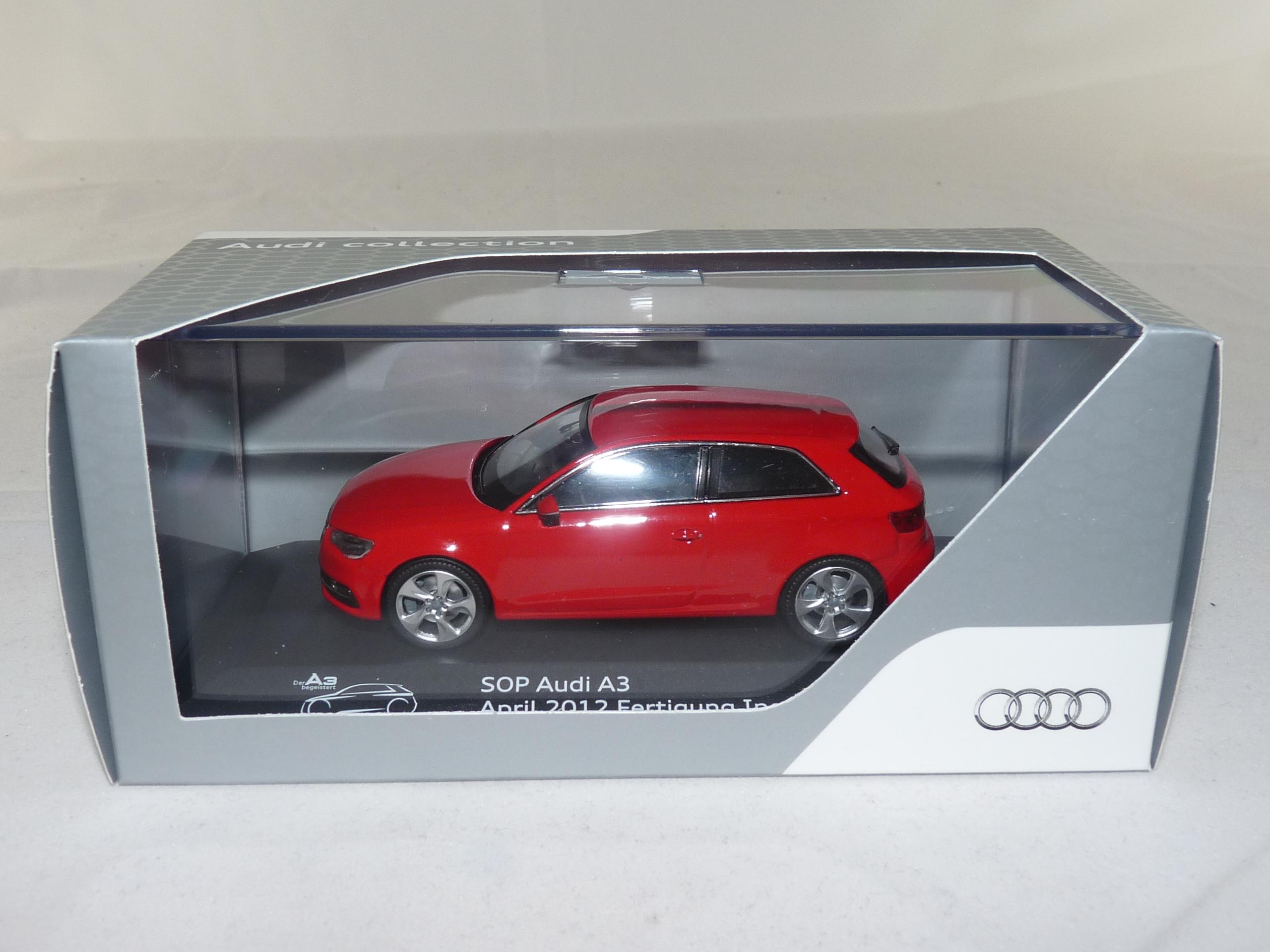 SCU Audi A3 rot