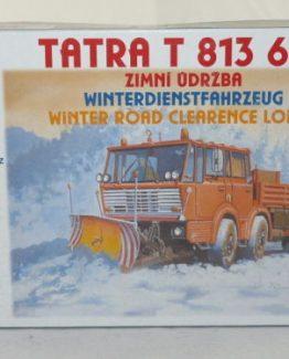 sdv model 294 Tatra T 813 6x6 Winterdienstfahrzeug 1:87