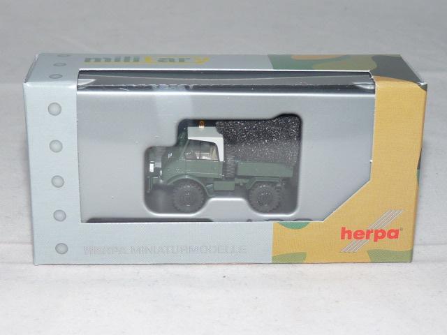 """Herpa 746496-1//87 Unimog U 421 Pritsche /""""Standortverwaltung der Bundeswehr/"""""""