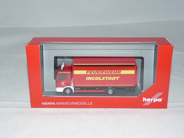 """Herpa Mini Kit MAN M2000 Löschfahrzeug HLF 20 /""""Feuerwehr/"""" 012898-1:87"""
