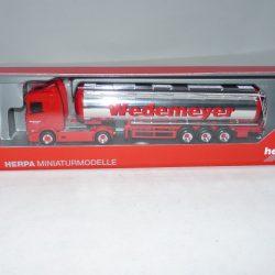 Herpa 932004 MERCEDES BENZ ACTROS classicspace auto Transporter hängerzug-fere...