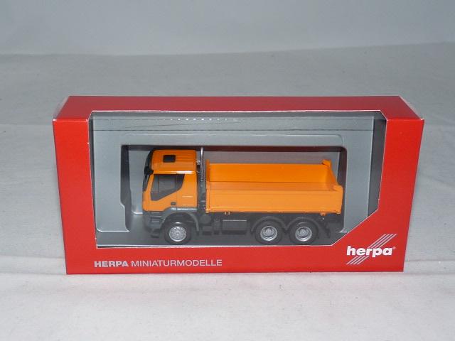 Herpa 1//87 IVECO LKW Koffer Walter Lippold Markenersatzteile OVP #7904