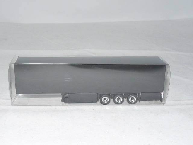 herpa 630129 Medi Schmitz Eurokofferauflieger 3achs schwarz mit Palettenkaste...
