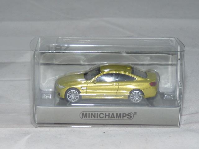 Minichamps 870027200 BMW M4 Coupe  2015 gelb  1:87 H0  NEU in  OVP