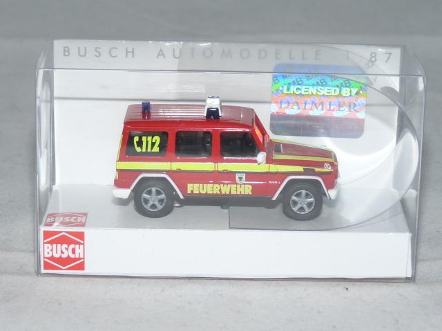 OVP Feuerwehr Dortmund 1:87 NEU Busch 51417 Mercedes-Benz G-Klasse