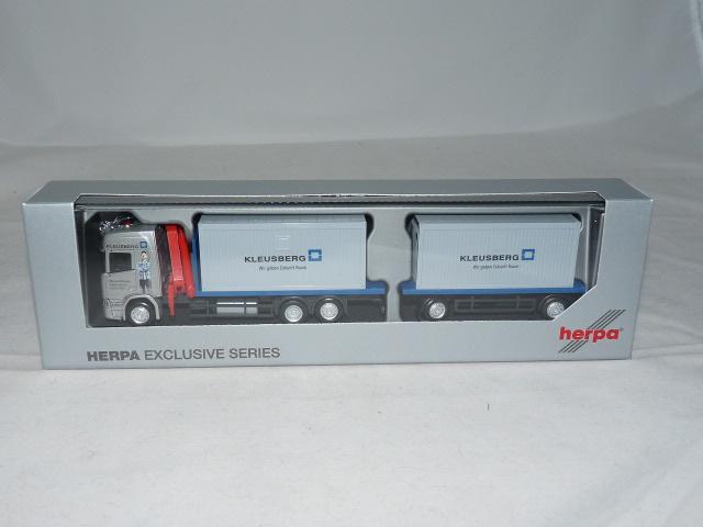 1//87 Herpa Scania CR20 HD Swapcontainer SZ Spedition Anhalt 308199