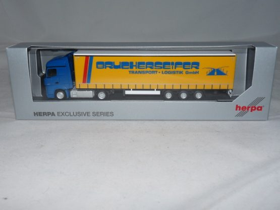 RF38 Herpa MB Actros Koffer SZ with Xmas Greetings 2008 1:87 OVP /</</<selten