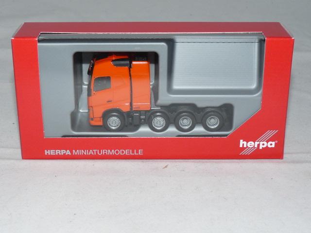 XL Schwerlastzugm. Herpa 1:87 304788-006 Volvo FH Gl NEU! verkehrsorange