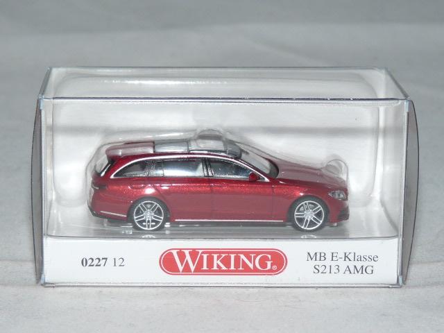 #022707 Wiking MB Classe E s213 AMG-Noir 1:87